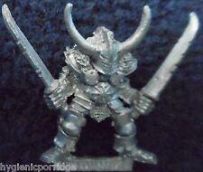 1987 CHAOS WARRIOR 0204 20 CH3 scaathor two-blades Citadel CHAMPION WARHAMMER GW