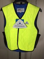 HyperKewl Evaporative Sport Cooling Vest System Lime Green Size Medium #6529