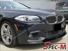 Performance Carbon Fiber Front Bumper Lip Fits 2011+ BMW 528i 535i 550i M sports