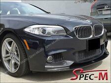 Performance Carbon Fiber Front Bumper Lip Fits 2011+ BMW 528i 535i 550i M sports