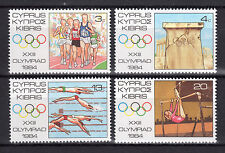 CYPRUS 1984 LOS ANGELES OLYMPIC GAMES MNH