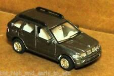 GRAY  BMW X5 1/72 SCALE DIE CAST NICE & NEW