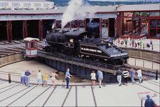 578066 giradischi utilizzato per reindirizzare i motori steamtown Pennsylvania A4 FOTO STAMPA