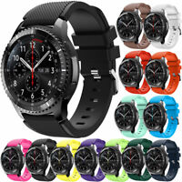 For Samsung Galaxy Gear S3 Classic/Frontier Watch Sports Band Strap Watch USA