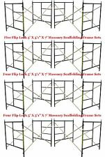"Eight Set New Flip Lock 5' X 5'1"" X 7' Masonry Scaffolding Frame Set Cbmscaffold"