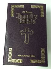 New American Bible All Saints Family Bible 1986 Pope John Paul II Leather Large