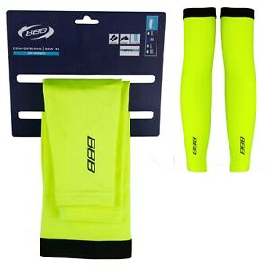 BBB Comfort Thermal Cycling Arm Warmers - Neon Yellow (BBW-92)