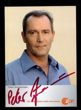 Peter Zimmermann ZDF autografiada mapa original firmado # bc 98532