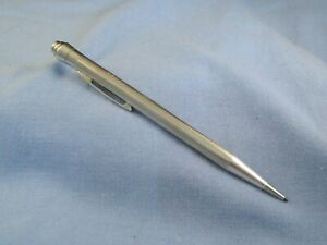 ANTIQUE MECHANICAL ART DECO PROPELLING PENCIL LIFE LONG STERLING SILVER WORKING