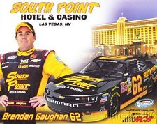 2014 Brendan Gaughan Southpoint Chevy Camaro NASCAR Nationwide postcard
