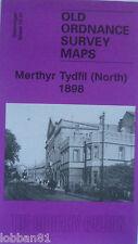 Old Ordnance Survey Map Merthyr Tydfil  North Glamorgan  1898 Sheet 12.01 New