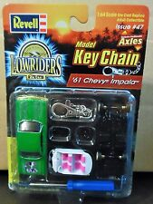 REVELL 61 1961 CHEVY CHEVROLET IMPALA AUTH LOWRIDER CAR MODEL KIT KEY CHAIN RARE