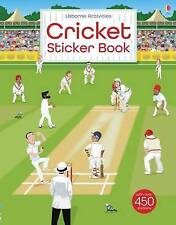 CRICKET STICKER BOOK / USBORNE ACTIVITIES	9781474921770