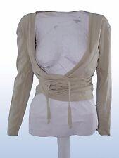 maglia donna aperta sabbia cotone XTREND tg L LARGE