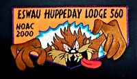 ESWAU HUPPEDAY OA LODGE 560 PIEDMONT AREA COUNCIL NOAC 2000 DEVIL DELEGATE FLAP