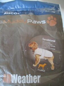 Ancol Muddy Paws AllWeather Fleece Lined Coat X-Large XL