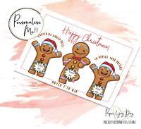 Hidden Message Rude Christmas Card. Christmas Surprise Scratch & Reveal Card.
