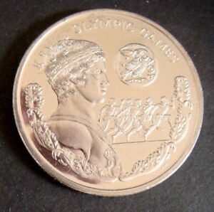 OLYMPIC COIN COPPER NICKEL XXVIII OLYMPIC GAMES COIN 2003 BRITISH VIRGIN ISLANDS