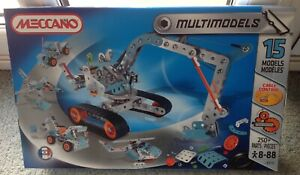 Meccano Multi Models 15 Models  6515 NEW!