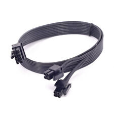 For Cooler Master Silent Pro Hybrid 1300W CPU 8Pin to 4+4 pin Power Supply Cable