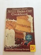Pillsbury's Best 11Th National Bake-Off Cookbook
