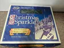Vintage Christmas SPARKLE  OutDoor/indoor Lights.120!