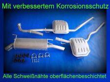 Abgasanlage Auspuff Schalldämpfer Opel Omega B 2.2i 16V Caravan / Kombi + Kit