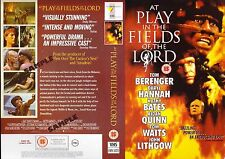At Play In The Fields Of The Lord Video Promo Sample Sleeve/Cover #15500