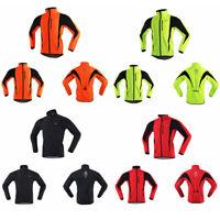 Unisex Thermal Cycling Jacket Winter Bicycle Windproof Waterproof Coat MTB Bike