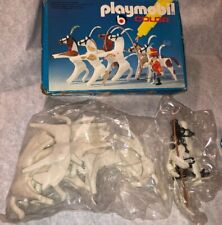 Rare Playmobil Color Circus Horse Act Figure Set In Box Unused! 3643