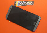 P1 DISPLAY + TOUCH SCREEN LCD VETRO + COVER FRAME per HTC ONE M8 2 CORNICE NERO