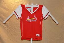 St. Louis Cardinals MLB Fan Fashion JERSEY/Shirt  MAJESTIC Womens Large  NWT $40