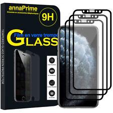 """3 Vitre Film Verre Trempe Protecteur d'écran NOIR Apple iPhone 11 Pro 5.8"""" A2215"""