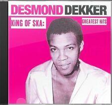 SKA / Desmond Dekker / King Of Ska / Greatest Hits / CD / Studio & Live / Sealed