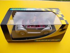 SCALEXTRIC C2234 VW BEETLE  CABRIOLET SILVER MINT BOXED CONDITION FR LIGHTS