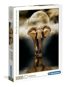 Clementoni 1000 Piece Jigsaw Puzzle - The Elephant