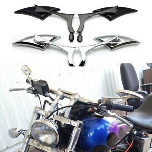 Motorcycle Rearview Mirrors For Harley Davidson Softail Sportster XL 883 1200 AM