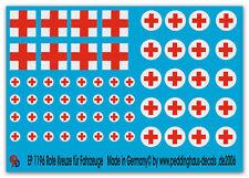 Peddinghaus 1/48 1196 Rojo cruces para los vehículos