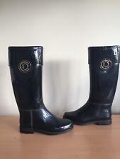 Christian Dior Wellingtons Boots, Black, Size 36, Uk 3 Horse riding