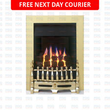 Valor Blenheim Slimline Fire in Brass 0595661 - BRAND NEW *FREE P&P*