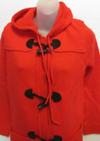 NWT LAUREN Ralph Lauren Duffle Knit Coat Hooded Petite PM