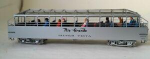 "On3 Brass Berlyn Locomotive Works D&RGW Excursion Car No. 313 ""Silver Vista"""