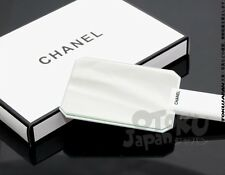 New Chanel VIP Gift Make Up Bag Brush Eye Lip Stick Hand Mirror Gloss White