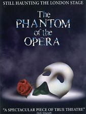 """The Phantom of the Opera 16"""" x 12"""" Reproduction Poster Photograph"""