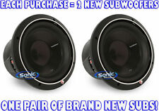 "2) Rockford Fosgate P3D2-10 2000W 10"" Punch P3 Series Dual 2-Ohm Car Subwoofers"