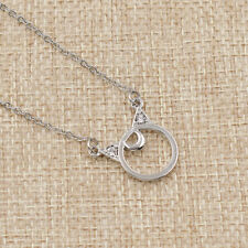 Sailor Moon Necklace Luna Cat Ring Pendant Fashion Women Charm Jewelry Gift 1 Pc