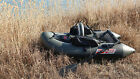 Bolerto inflatable fly fishing boat dinghy sport raft yacht frameless pontoon