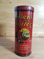 Vintage Allen's Toffee Tin