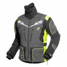 Rukka Orivesi Grey Fluo Yellow Vented Goretex Mens Motorcycle Jacket D30 Armour