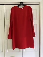 Tibi Dress Red Longsleeve Size 6